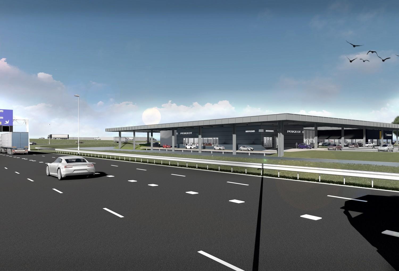 Renault Garage Groningen : Nieuwbouw terwolde renault en nefkens peugeot autogarage